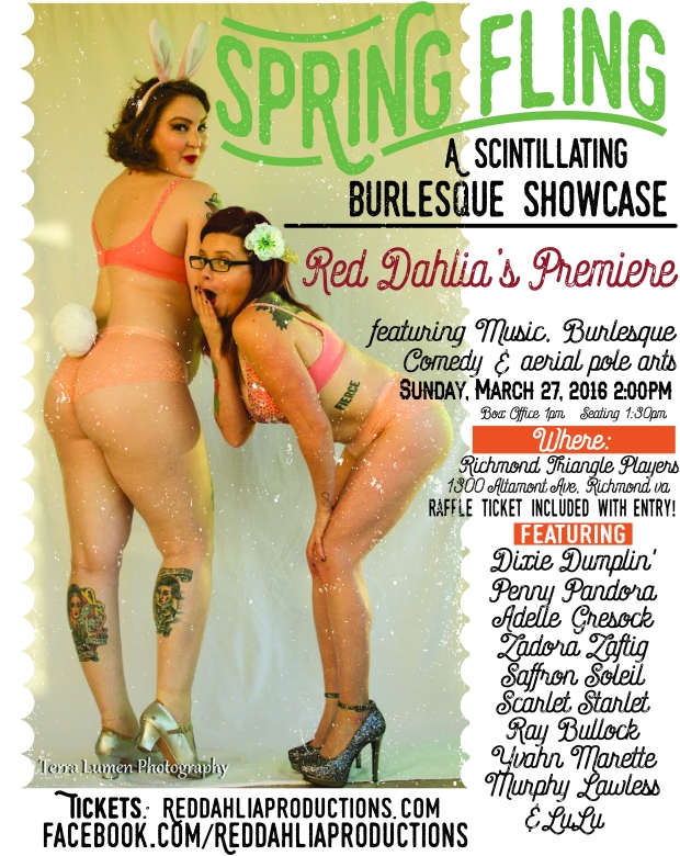 Spring fling Burlesque